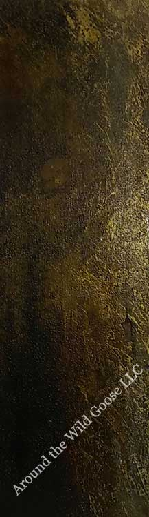 Acrylic textures with gold dust look